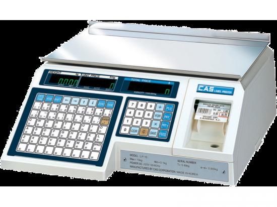 Весы с термопечатью CAS LP-15 (v1.60)