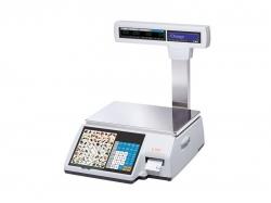 Весы с термопечатью CAS CL5000J-15IP TCP-IP